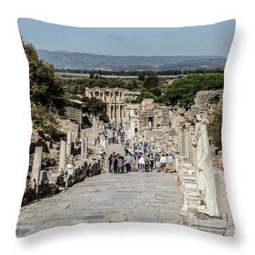 This Is Ephesus Throw Pillow