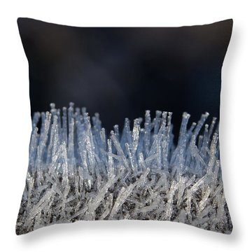 This Is Frost Throw Pillow