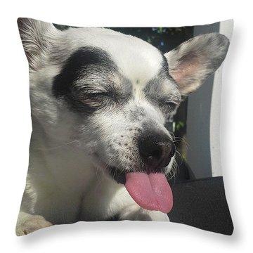 Ha Ha Throw Pillow