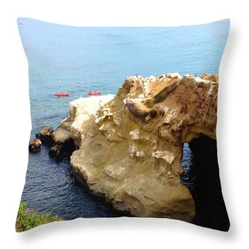 This Is La Jolla Throw Pillow