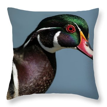 Throw Pillow featuring the photograph This Is My Good Side by Elvira Butler