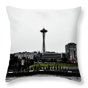 This Is Seattle  Throw Pillow
