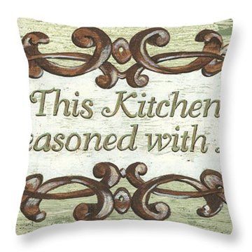This Kitchen Throw Pillow