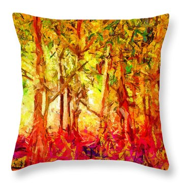 This Light Defeats The Darkness Throw Pillow