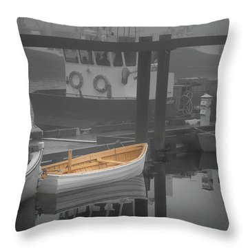 This Little Boat Throw Pillow