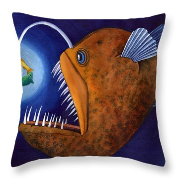 This Little Light Of Mine Throw Pillow