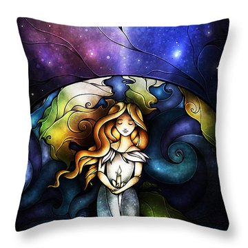 This Little Light Of Mine Throw Pillow