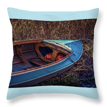 This Old Boat Throw Pillow