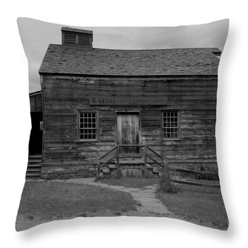 This Old House Throw Pillow by Kathleen Struckle