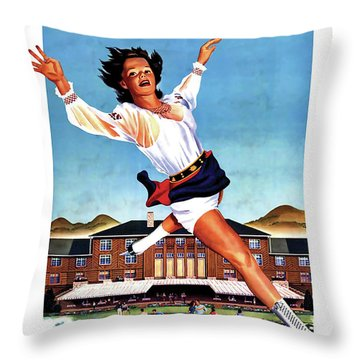 This Summer Sun Valley Throw Pillow