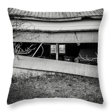 This Was Once The Perfect Hideout Throw Pillow by Off The Beaten Path Photography - Andrew Alexander