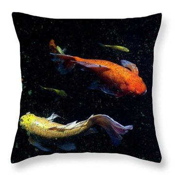 Throw Pillow featuring the photograph This Way by Eric Christopher Jackson