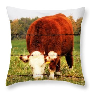 This Way That Throw Pillow