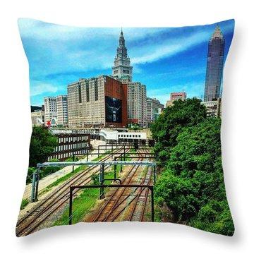 #thisiscle  Throw Pillow