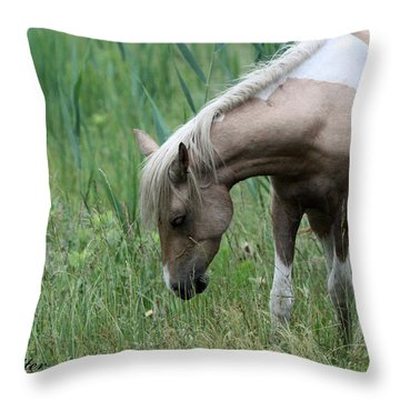 Thistle Flower Throw Pillow