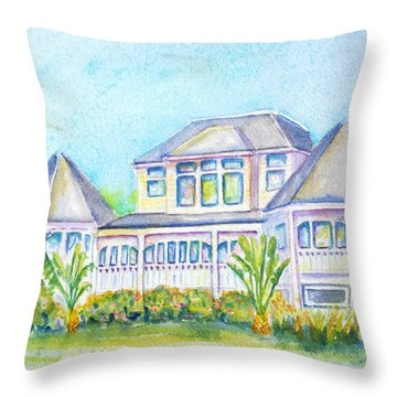 Thistle Lodge Casa Ybel Resort  Throw Pillow