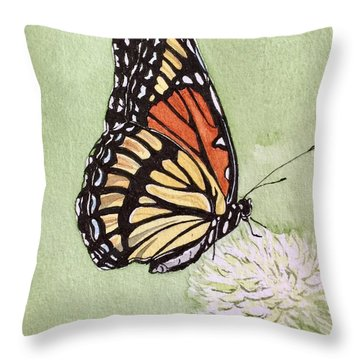 Thistle Do Throw Pillow