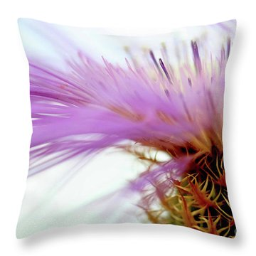 Thistlewhips Throw Pillow