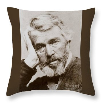 Thomas Carlyle Throw Pillow by Pg Reproductions