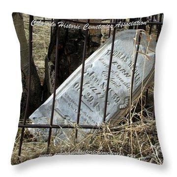 Thomas Hooper Killed  Bag Size Throw Pillow