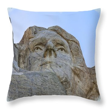 Thomas Jefferson 2 Throw Pillow