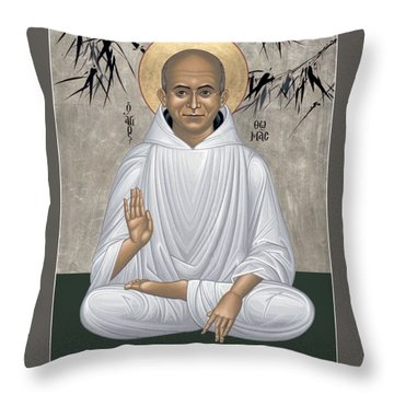 Thomas Merton - Rltmr Throw Pillow
