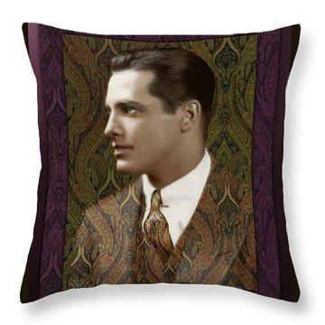 Thomas Throw Pillow by Richard Laeton