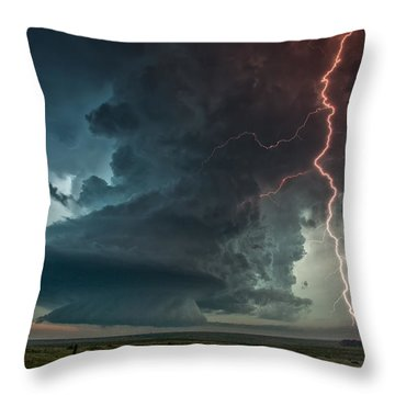 Thor Speaks Throw Pillow