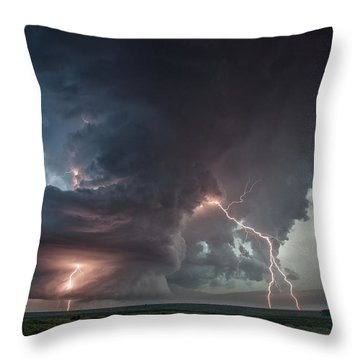 Thor Strikes Again Throw Pillow