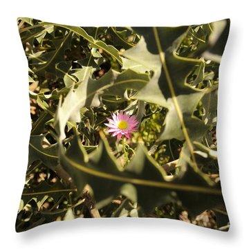 Thorn Love Throw Pillow by Oscar Moreno