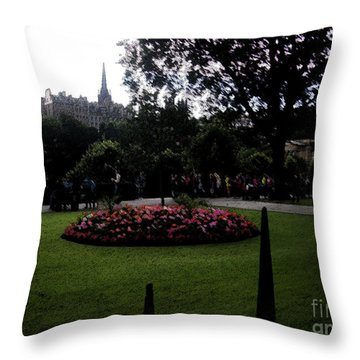 Throw Pillow featuring the photograph Thorns by Janelle Dey