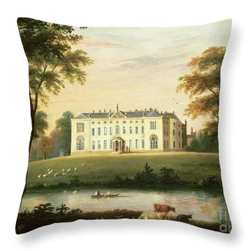 Thorp Perrow Near Snape In Yorkshire Throw Pillow by English School