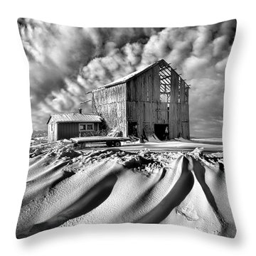 Throw Pillow featuring the photograph Those Were The Days by Phil Koch