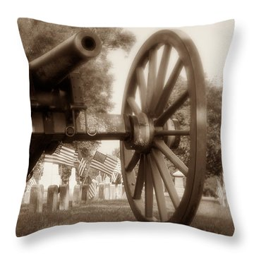 Those Who Served Throw Pillow by Tom Mc Nemar