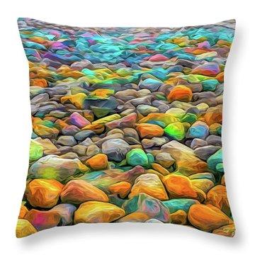 Thou Shalt Not Eat Stones Throw Pillow