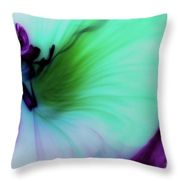 Though The Silence Throw Pillow