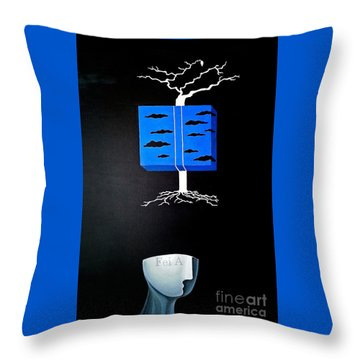 Thought Block Throw Pillow