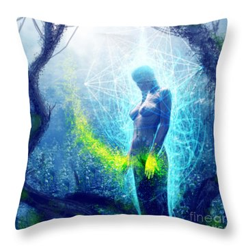 Thought Causing Potential Throw Pillow