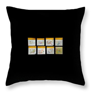 Thought Pad Series Throw Pillow