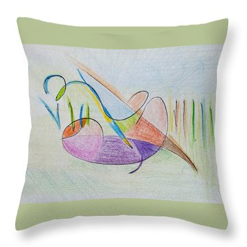 Thought Pad Series Page 2 Throw Pillow