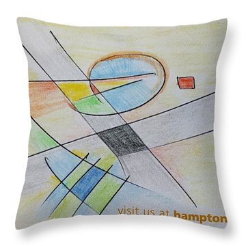 Thought Pad Series Page 4 Throw Pillow