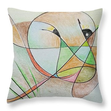 Thought Pad Series Page 5 Throw Pillow