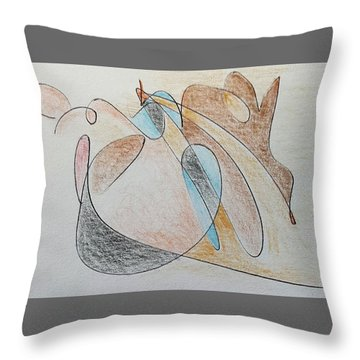 Thought Pad Series Page 7 Throw Pillow
