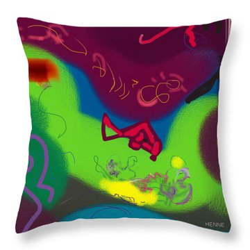 Thought Throw Pillow by Robert Henne