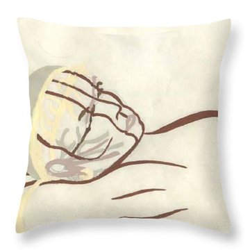 Thought Throw Pillow by Steve  Hester