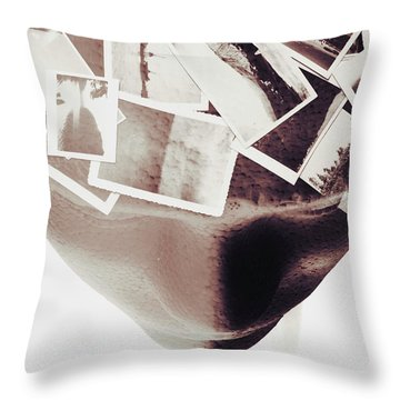 Thoughts And Creation Throw Pillow