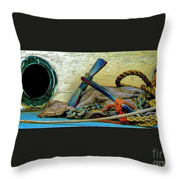Thoughts Of The Sea Throw Pillow