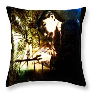 Thoughts Of You Throw Pillow