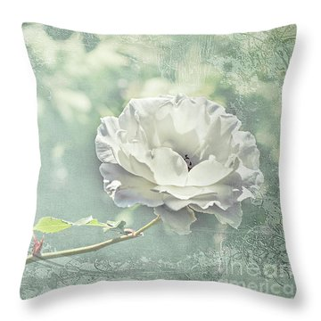 Throw Pillow featuring the photograph Thoughts Of You by Linda Lees