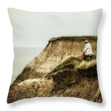 Throw Pillow featuring the photograph Thoughts Travel Far by Odd Jeppesen
